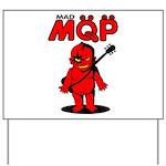 MQP Guitar Yard Sign