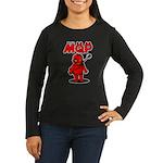 MQP Guitar Women's Long Sleeve Dark T-Shirt