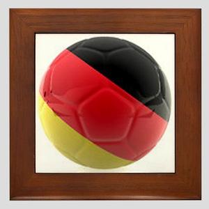 Germany World Cup Ball Framed Tile