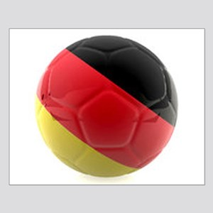 Germany world cup ball Small Poster