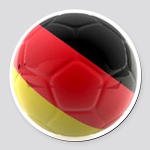 Germany world cup ball Round Car Magnet