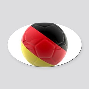 Germany world cup ball Oval Car Magnet