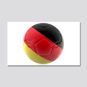 Germany world cup ball Car Magnet 20 x 12