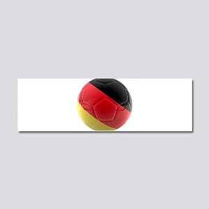 Germany world cup ball Car Magnet 10 x 3