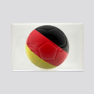 Germany World Cup Ball Rectangle Magnet Magnets