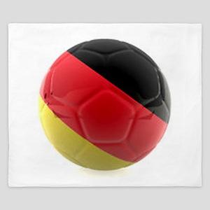 Germany World Cup Ball King Duvet
