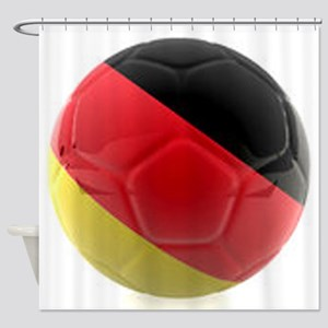 Germany world cup ball Shower Curtain
