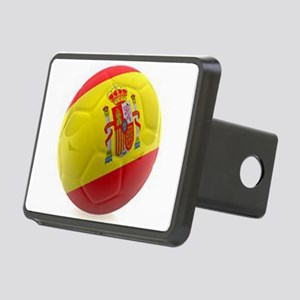 Spain world cup soccer ball Rectangular Hitch Cove