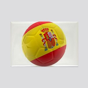 Spain world cup soccer ball Rectangle Magnet