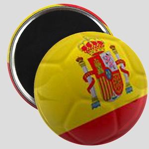 Spain world cup soccer ball Magnet