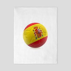 Spain world cup soccer ball Twin Duvet
