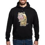 Grandma cat Hoodie (dark)