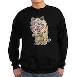 Grandma cat Sweatshirt (dark)