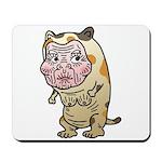 Grandma cat Mousepad