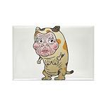 Grandma cat Rectangle Magnet (10 pack)