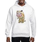 Grandma cat Hooded Sweatshirt