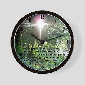 Sunbeam of Hope/Scripture Wall Clock