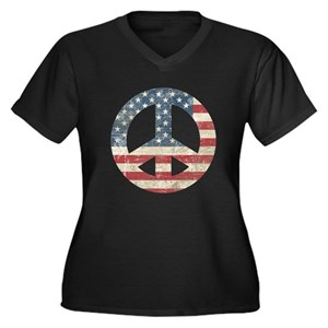 10680925836 Patriotic Women s Plus Size T-Shirts - CafePress