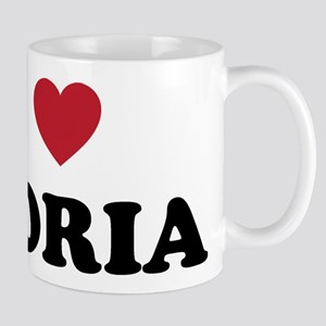 I Love Peoria Illinois Mug