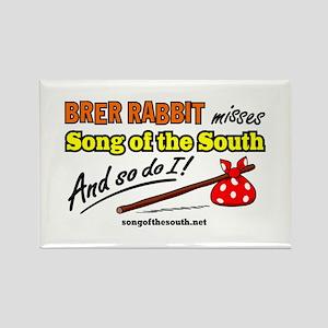 Brer Rabbit Rectangle Magnet