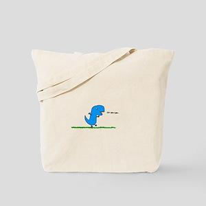 Dino Munch Tote Bag