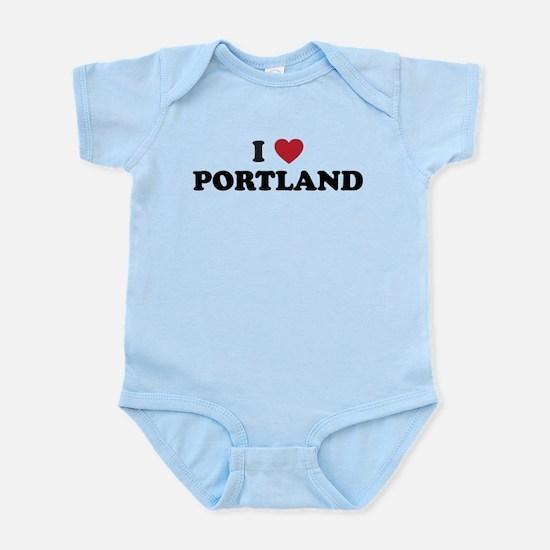 I Love Portland Infant Bodysuit