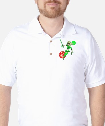 Emerald Doll Golf Shirt