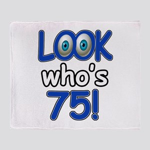 Look who's 75 Throw Blanket