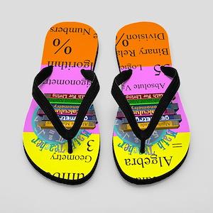 math teacher 8 Flip Flops
