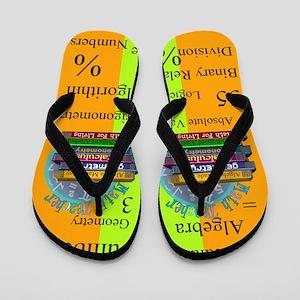 math teacher 6 Flip Flops