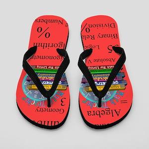 Math TEacher 5 Flip Flops