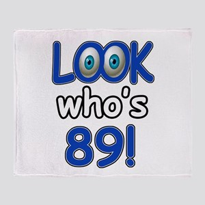 Look who's 89 Throw Blanket
