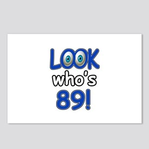 Look who's 89 Postcards (Package of 8)