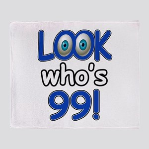 Look who's 99 Throw Blanket