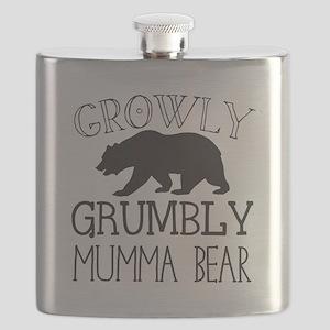 Growly Grumbly Mumma Bear Flask