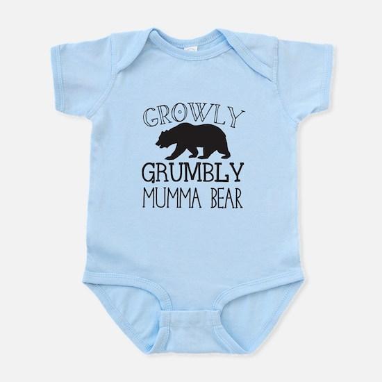 Growly Grumbly Mumma Bear Body Suit