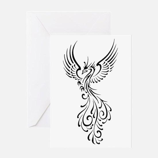 black-phoenix-bird.png Greeting Card