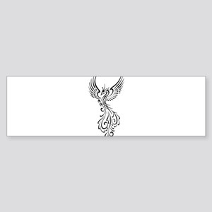 black-phoenix-bird Sticker (Bumper)