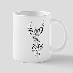 black-phoenix-bird Mug