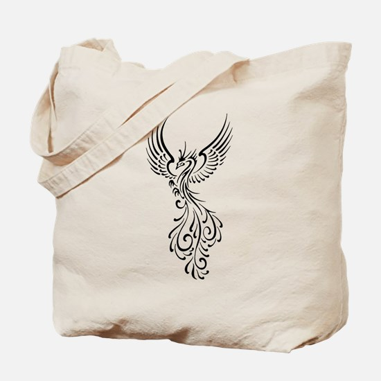 black-phoenix-bird.png Tote Bag