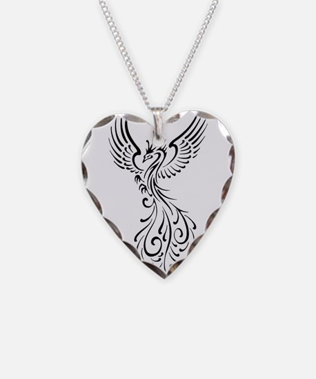 Cool necklaces cool dog tags necklace charmspendants black phoenix birdg necklace mozeypictures Image collections
