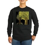 Marina's Fortune Tree Long Sleeve Dark T-Shirt
