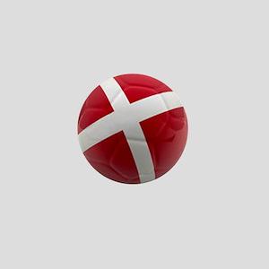 Denmark world cup ball Mini Button
