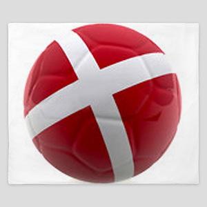 Denmark world cup ball King Duvet