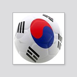 South Korea world cup soccer ball Square Sticker 3