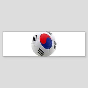 South Korea world cup soccer ball Sticker (Bumper)