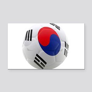 South Korea world cup soccer ball Rectangle Car Ma