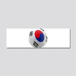 South Korea world cup soccer ball Car Magnet 10 x