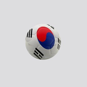 South Korea world cup soccer ball Mini Button