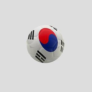 South Korea world cup soccer ball Mini Button